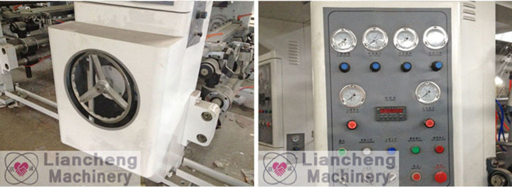 Concave Press Gravure Printer Computerized Reel Plastic Film Register With CE For Decorative Paper Wall Paper